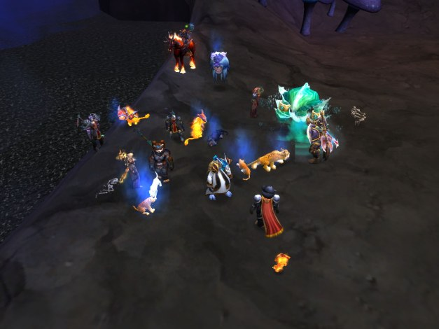 Fiirnok's cat party