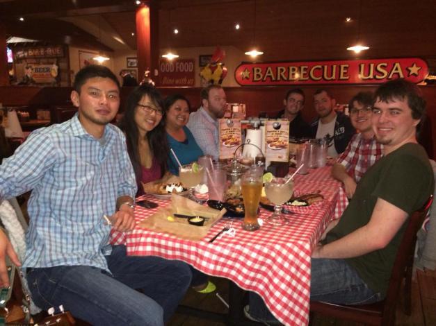 guild dinner at blizzcon